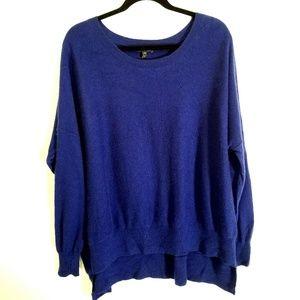 Eileen Fisher Cashmere Scoop neck Sweater SZ L